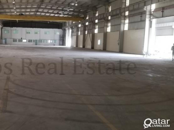 Huge Well Maintained Warehouse in Industrial Area