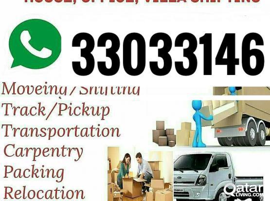 Best Price.Moving Shifting Carpenter Transport  services.33033146.