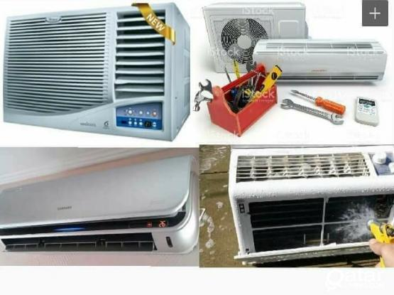 BEST AC SERVICE REPAIRING FIXING GAS FILLING SELLING AND MAINTENANCE YOUR NEED INSTALLATION JUST CALL ME 66854715