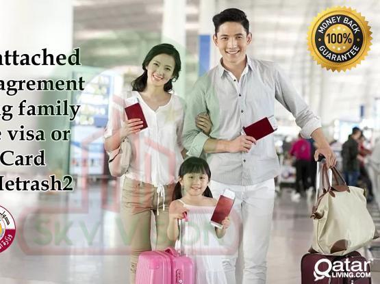 Baladiya attested tenancy agreement for applying Health card & Family Residence Permit through METRASH2(31204966)