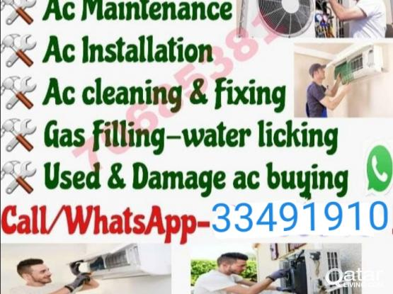 AC services maintenance Buy and sale....call: 33491910