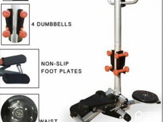 Stepper with twister brand new