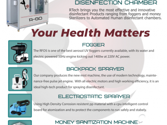 disinfectant equipment