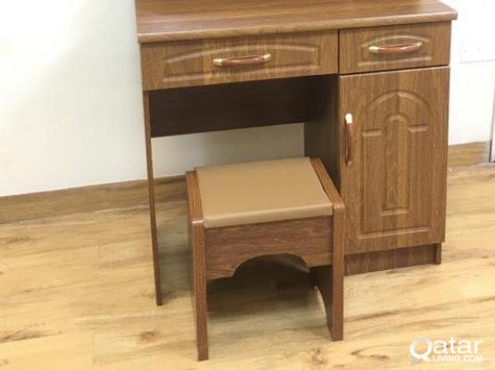 DRESSING TABLE & STOOL  OFFER PRICE(BRAND NEW) CONTACT-77850533