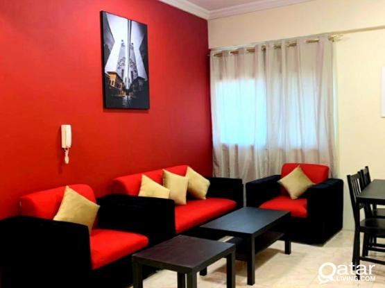 QR 500 CASH BACK OFFER - QR 1100 Rent only Premium & Hygienic Fully Furnished Space