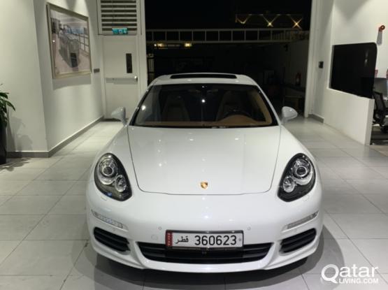 Porsche Panamera 4 2014