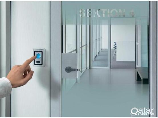 Sliding Door w/ Access Control System