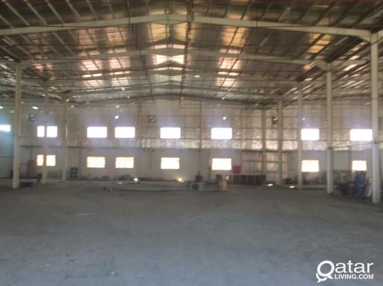 steel factory for rent