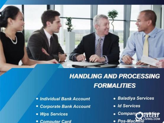 PRO Service, Company Bank Account Opening, Auditing.