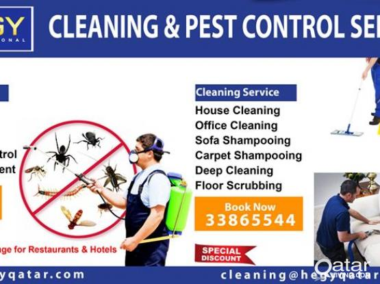 Sanitation Services - Cleaning Service - Pest Control Services