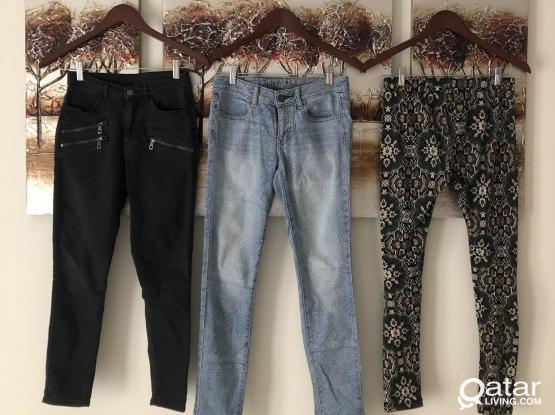 Women's Jeans and Pants, 50 for 3 items