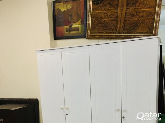 4 Door wardrobe for sale