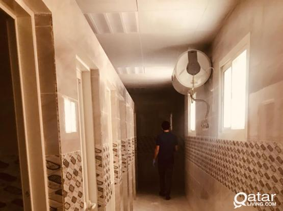 22 ROOMS CAMP, GARRAGE +18 ROOMS  At Alkhor Industrial Area