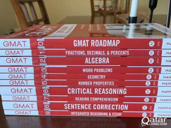 Manhattan Prep GMAT - Complete Strategy Guide Set 6th Edition $250