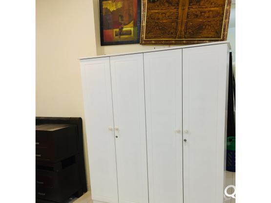 4 Door wardrobe for sale-