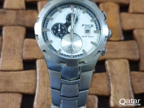 Excellent Used Watch FOCE brand for sale