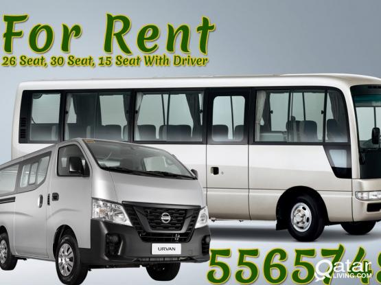 Bus Rental Service - with Driver