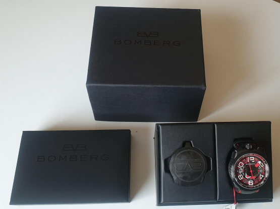 (NEW) Orginal Bomberg Luxury watch For Sale.