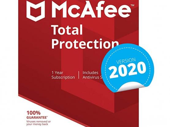 McAfee Antivirus until May 2030