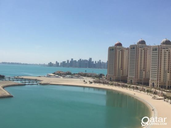 Large Bedroom (En-suite) available in Beach-facing Viva Bahriya Tower with amazing Balcony view