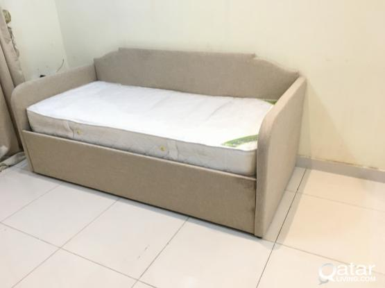 For sell Home centre Single Bed With mattress