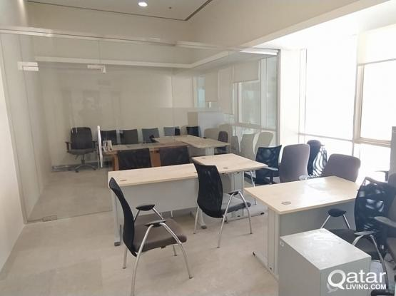 Fully Furnished 98 Sqm Office Space Available in Westbay