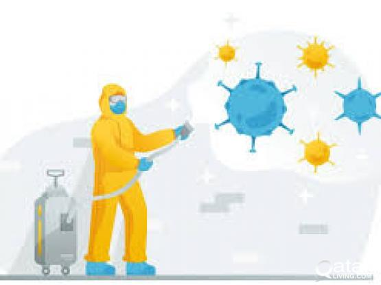 Anti - Bacterial Disinfection Treatment Services Doha Qatar
