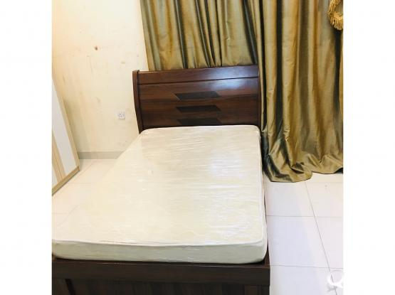 For sell Single Bed with mattress good condition