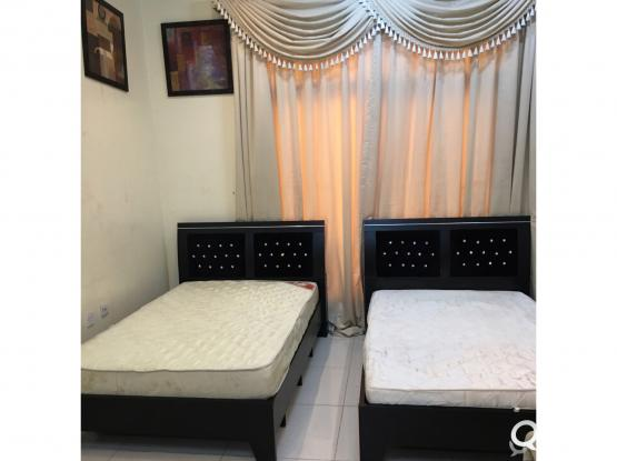 For sell 2 Single bed and mattress