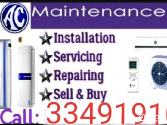 AC services maintenance Buy and sale.#&&&.call: 33491910