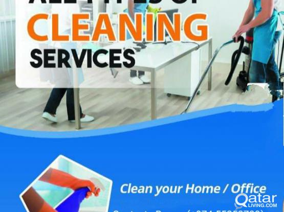 We are providing Cleaning Services of Flat, Apartment,Shop Call : 55253700