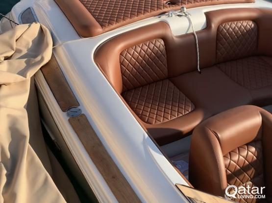 Unique in Qatar, Chris Craft Speedster luxury speedboat