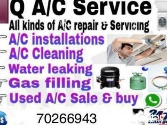 WE DO ALL KINDS OFF AIRCONDATION SCRVICES 66887822
