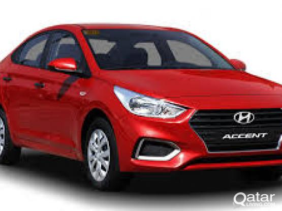 BRAND NEW MODEL HYUNDAI ACCENT AVAILABLE FOR RENT WITH BEST RATE  ON DAILY/ MONTHLY (CALL - 50399150)