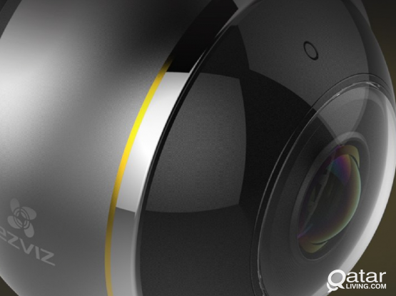 Wifi 360° panaromic camera with installation.