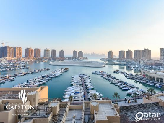 Free One Month! Fully Furnished Apt + Marina View