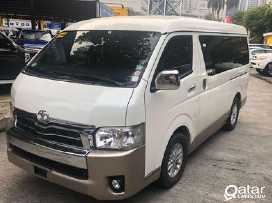 14 Seater Toyota Hiace van with Driver for Hire