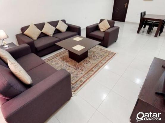 No Commission! 1 Bhk Fully Furnished Available in Fereej Abdel Azeez
