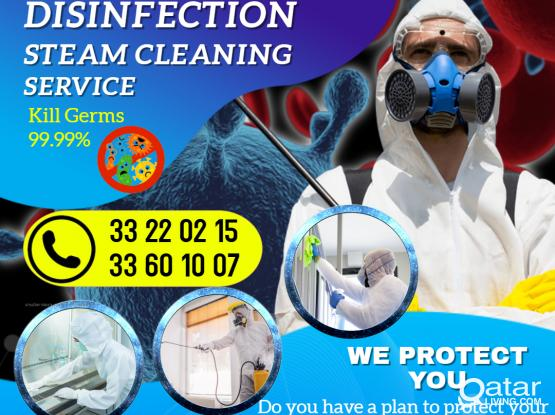 Disinfection /fumigation / Sanitizing (Covid-19) - 33220215 /Cleaning Services/ Steam cleaning