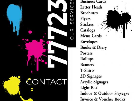 PRINTING SERVICES - ALL YOUR NEEDS IN ONE PLACE
