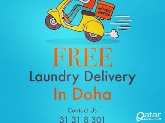Free Laundry delivery service