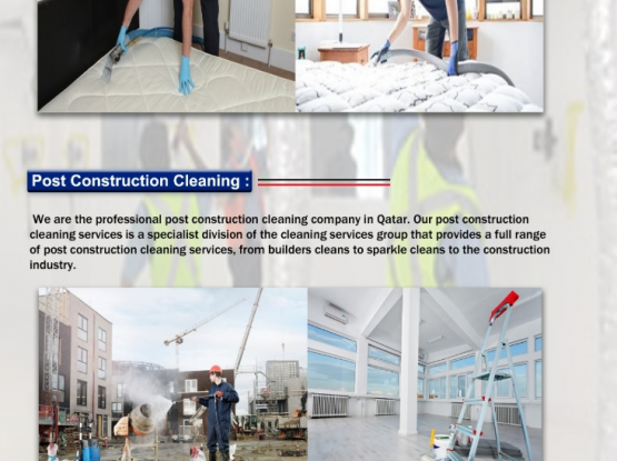 Cleaning and pest control services 30061108