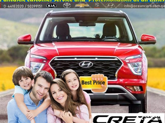 Hyundai Creta -2020 model Available for rent !! cheap rental price!! contact us .44182020/50399151//+974 - 31696859