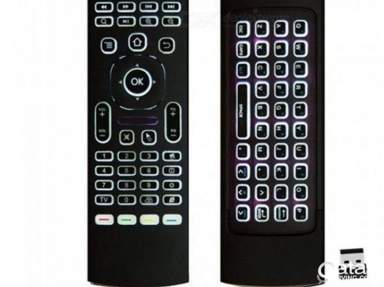 MX3 Pro 2.4GHZ Backlit Wireless Fly Air Mouse& Keyboard Remote Control