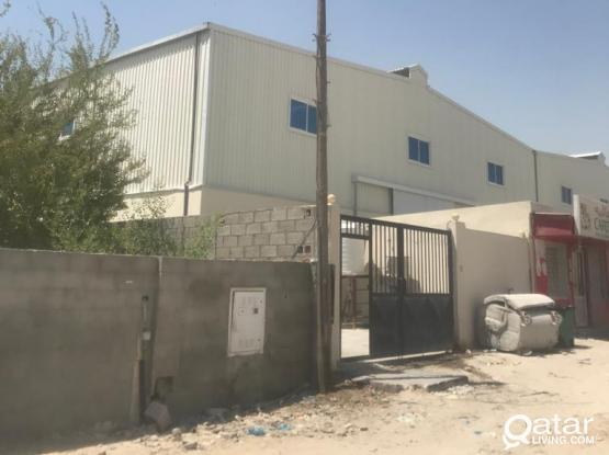 Warehouse + Labour camp for rent