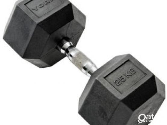 25 KG DUMBELL FORE SELL (1 PIECE)