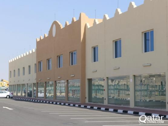 Available Shops, showrooms and offices in Ras Laffan Logistic Support Area