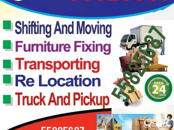We do moving shifting for good price, PIease call or WhatsApp :-55825687