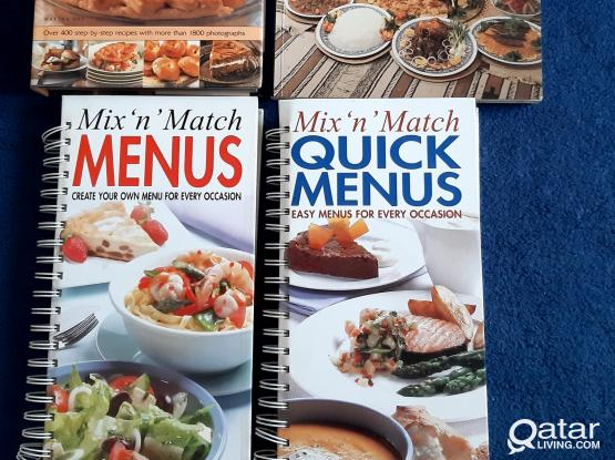 Bakery/ Cookery/ Menu Planning Books
