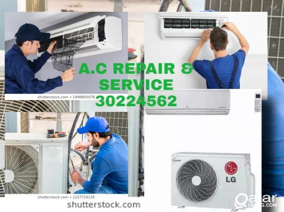 All kinds of A/C Repair, fixing & Servicing available here. 30224562/77306632